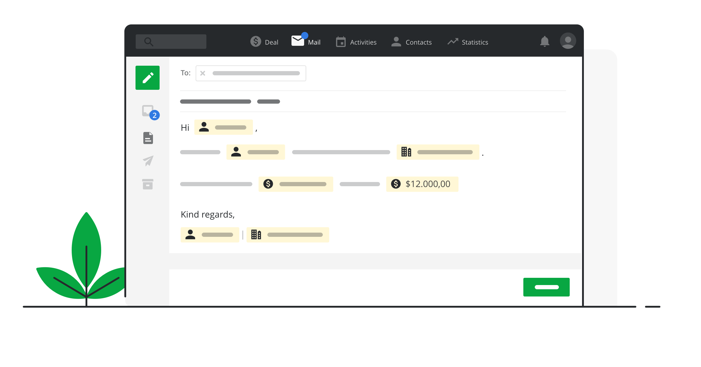 Add a Personal Touch to your Pipedrive Email Templates with Merge Fields