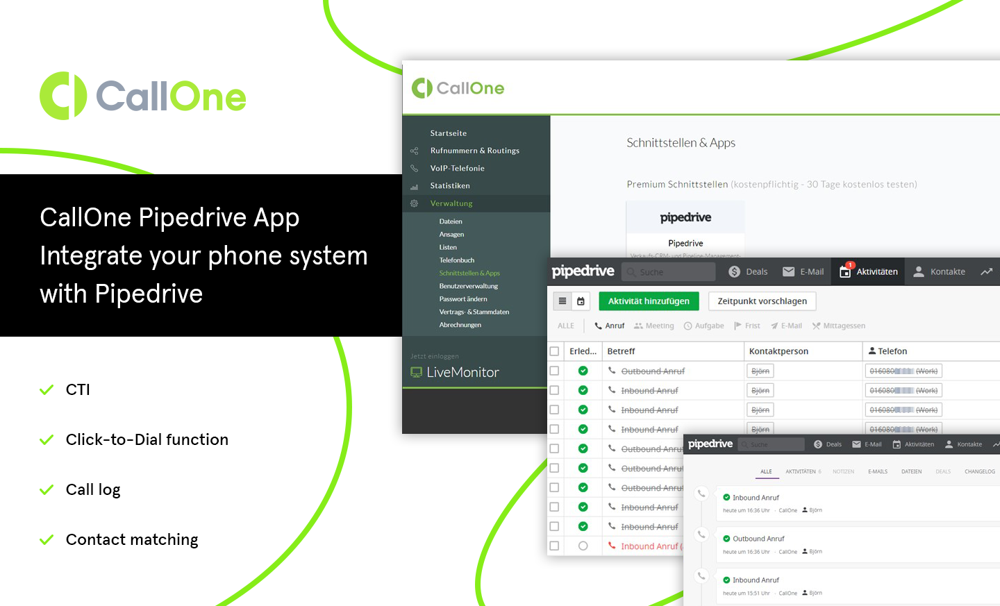 CallOne Interface