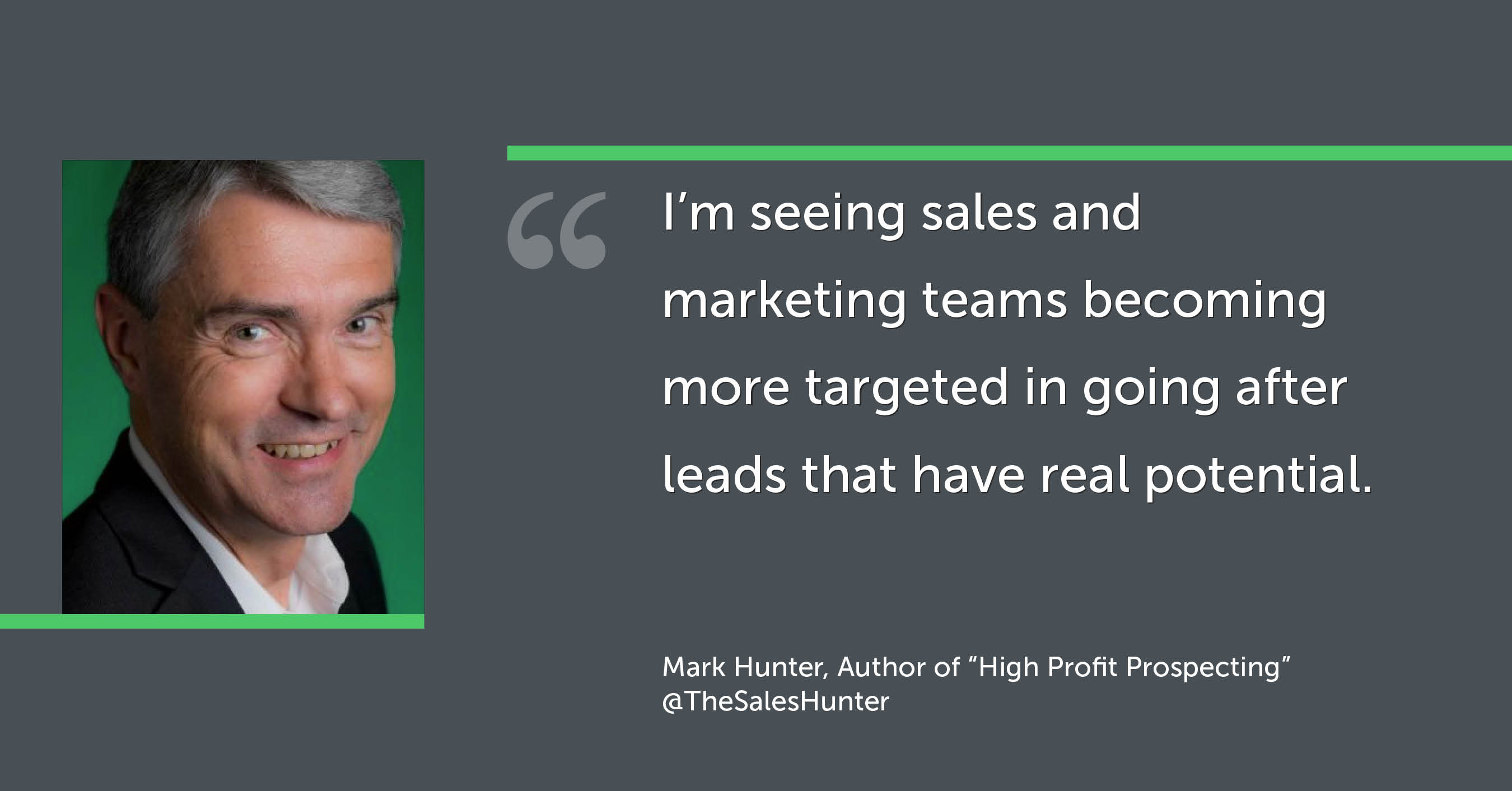 Mark Hunter sales expert