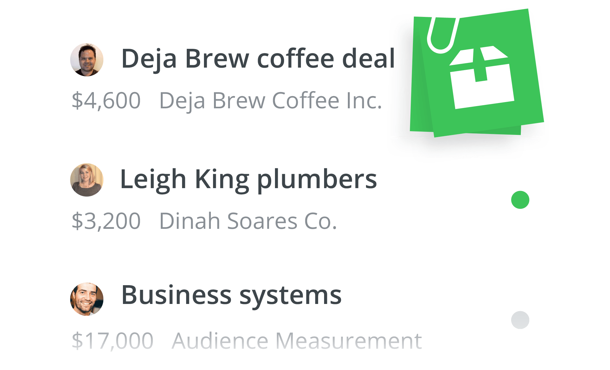 Pipedrive Gold plan Products feature