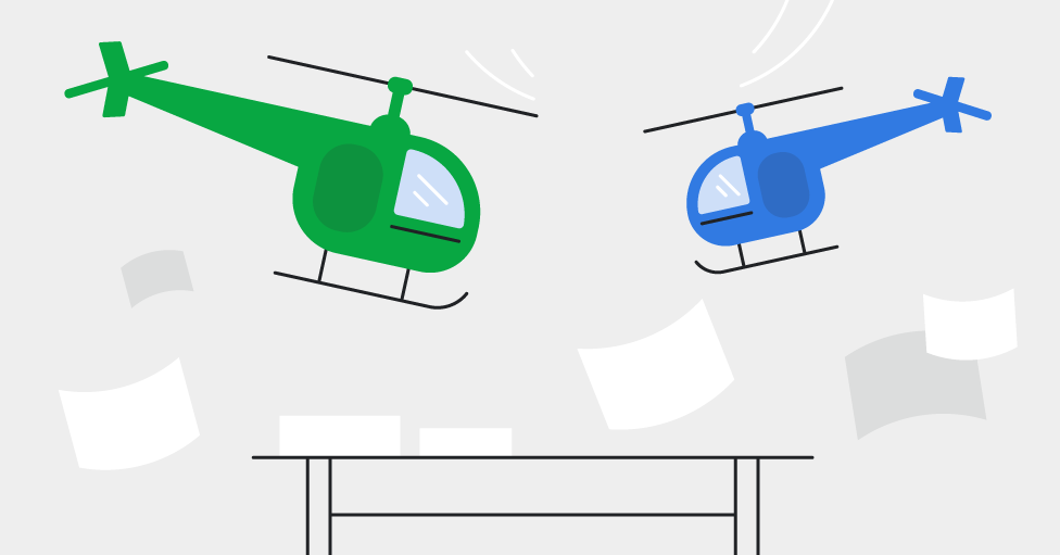 Helicopter sales management