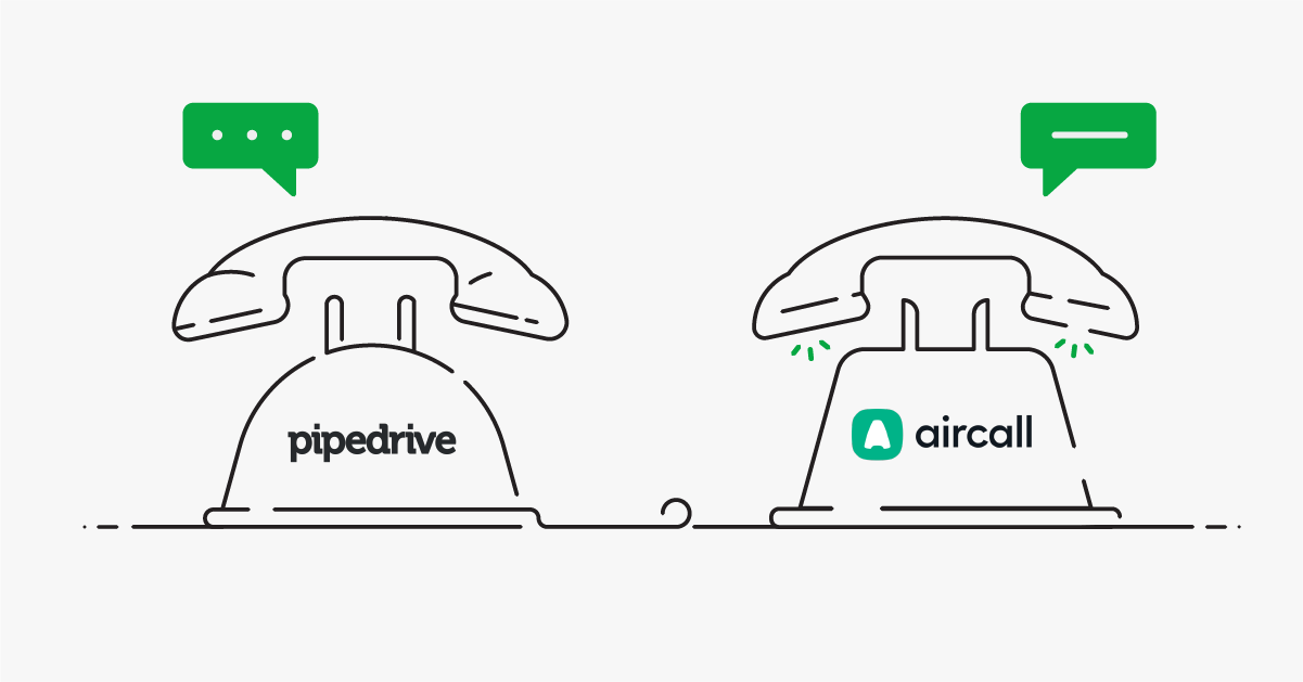 sales call management pipedrive aircall