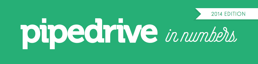 pipedrive in numbers 2014