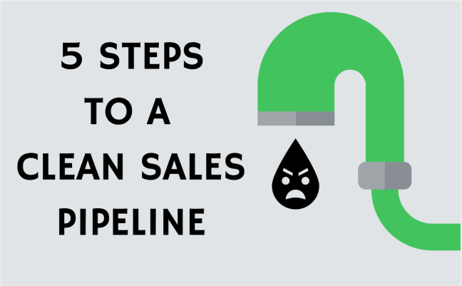 5 Steps To A Clean Sales Pipeline