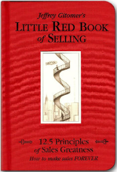 little red book of selling jeffrey gitomer