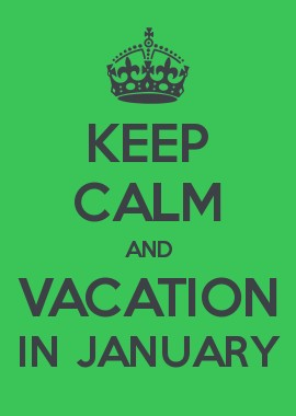 vacation in january