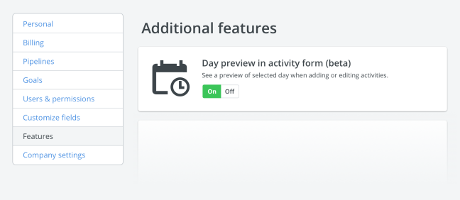 Pipedrive activity scheduler