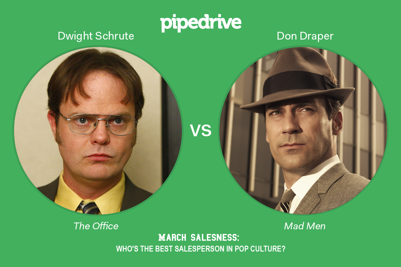 Dwight Schrute vs. Don Draper