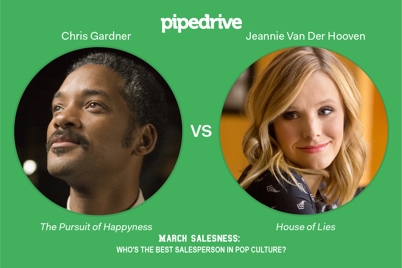 Pipedrive March Madness Chris Gardner vs Jeannie Van Der Hooven