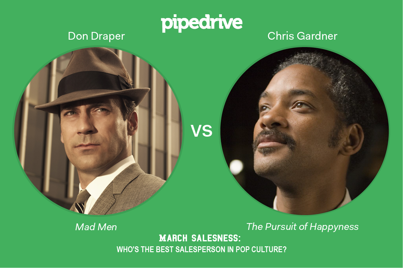 Chris Gardner vs. Don Draper Salesperson March Madness