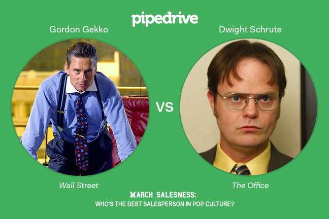 Gordon Gecko vs. Dwight Schrute