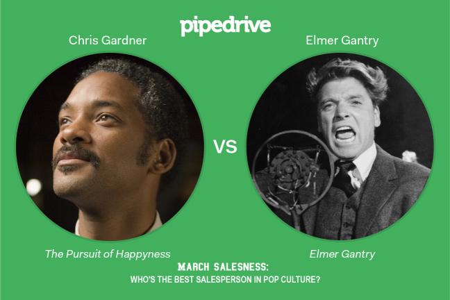 Chris Gardner vs. Elmer Gantry
