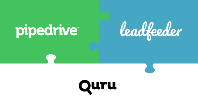 How Quru Uses Pipedrive and Leadfeeder
