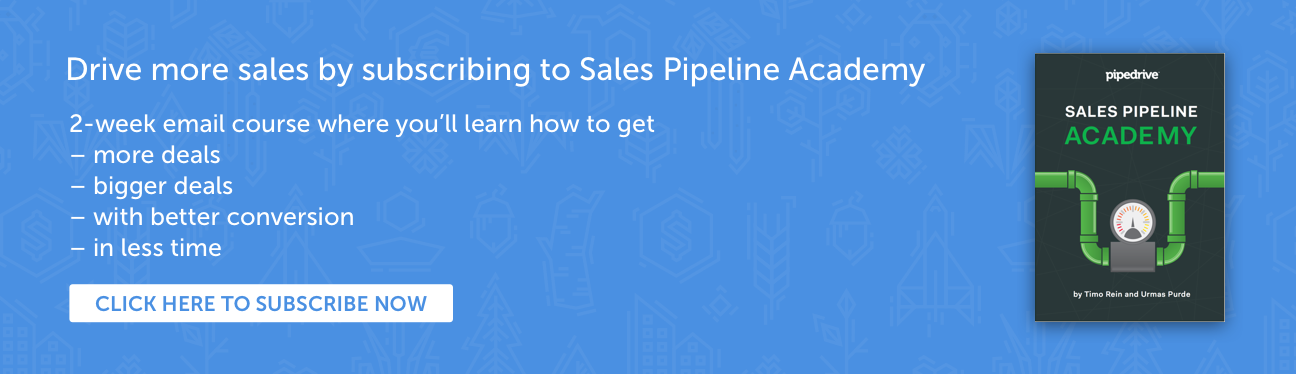 Sales Pipeline Academy upgrade