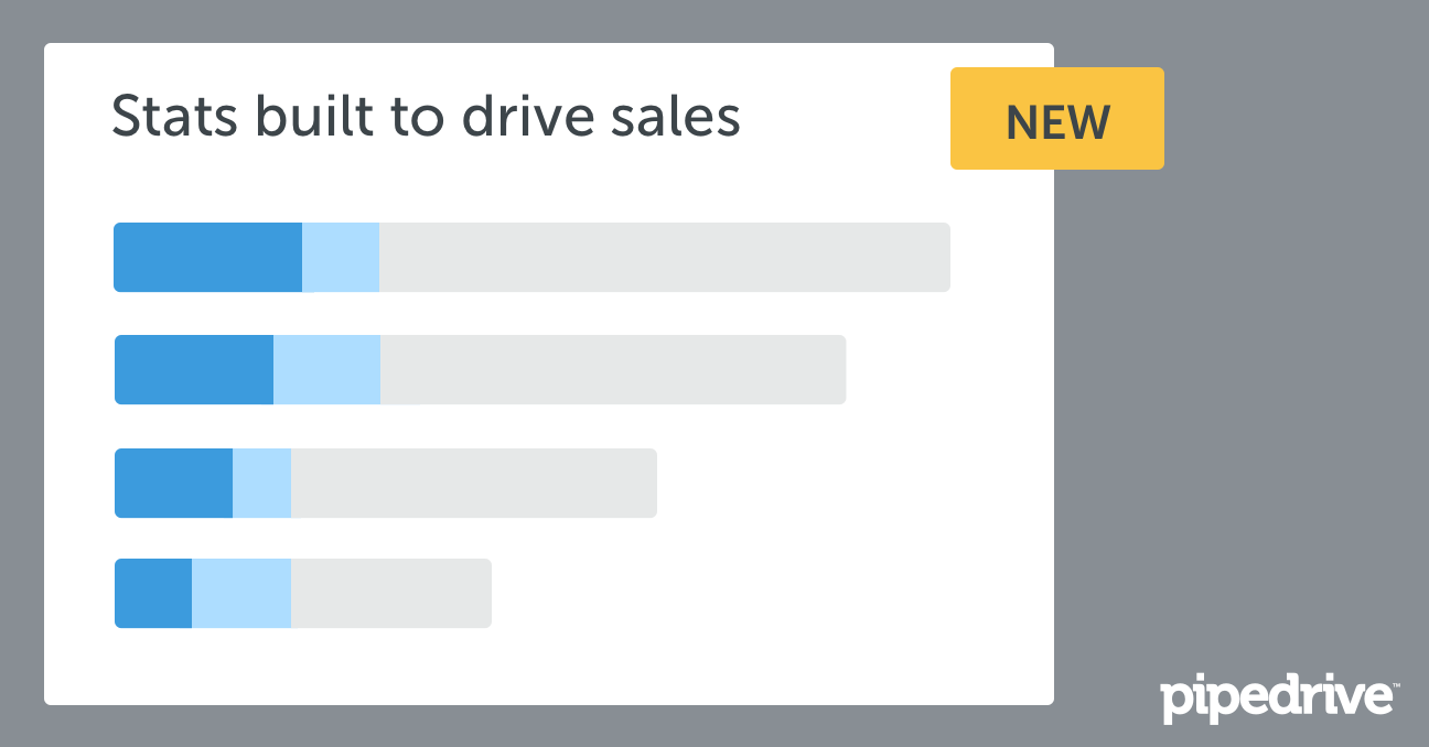 Statistics to drive sales success