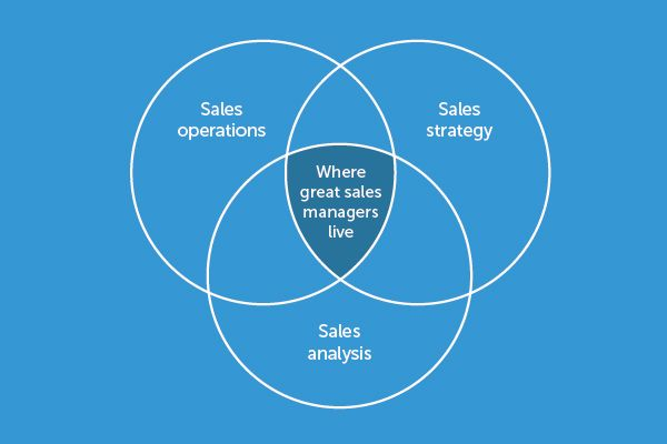 What is Sales Management: A Venn Diagram