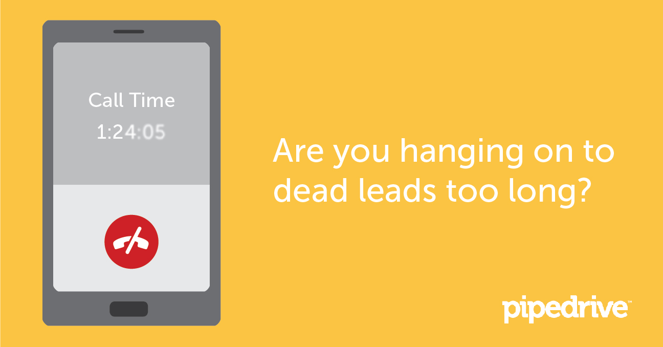 When to give up on Cold Leads