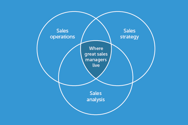 Sales Reporting Venn Diagram