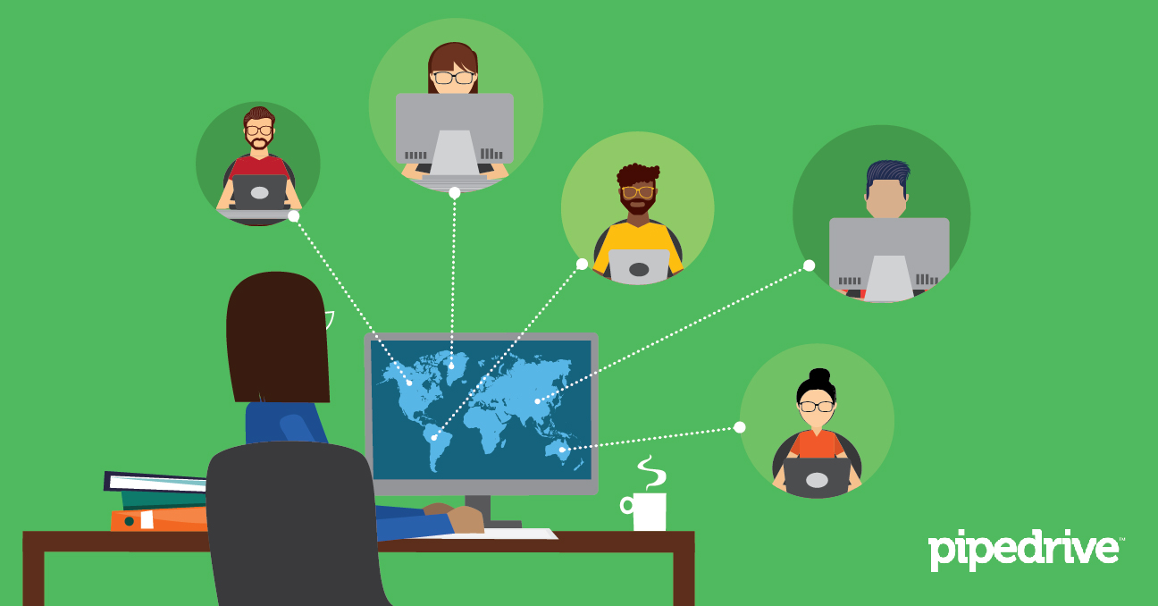 How To Manage a Remote Sales Team