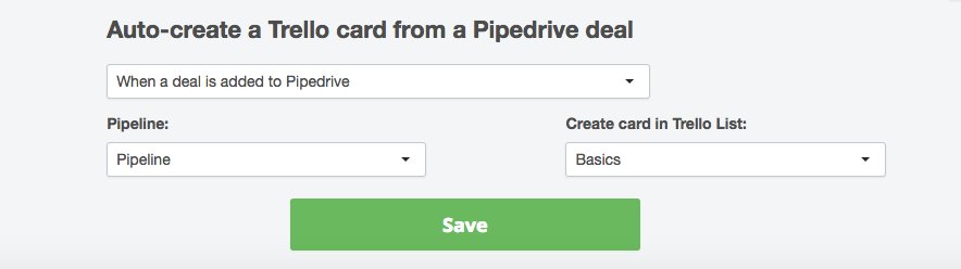 Creating Pipedrive power-up in Trello