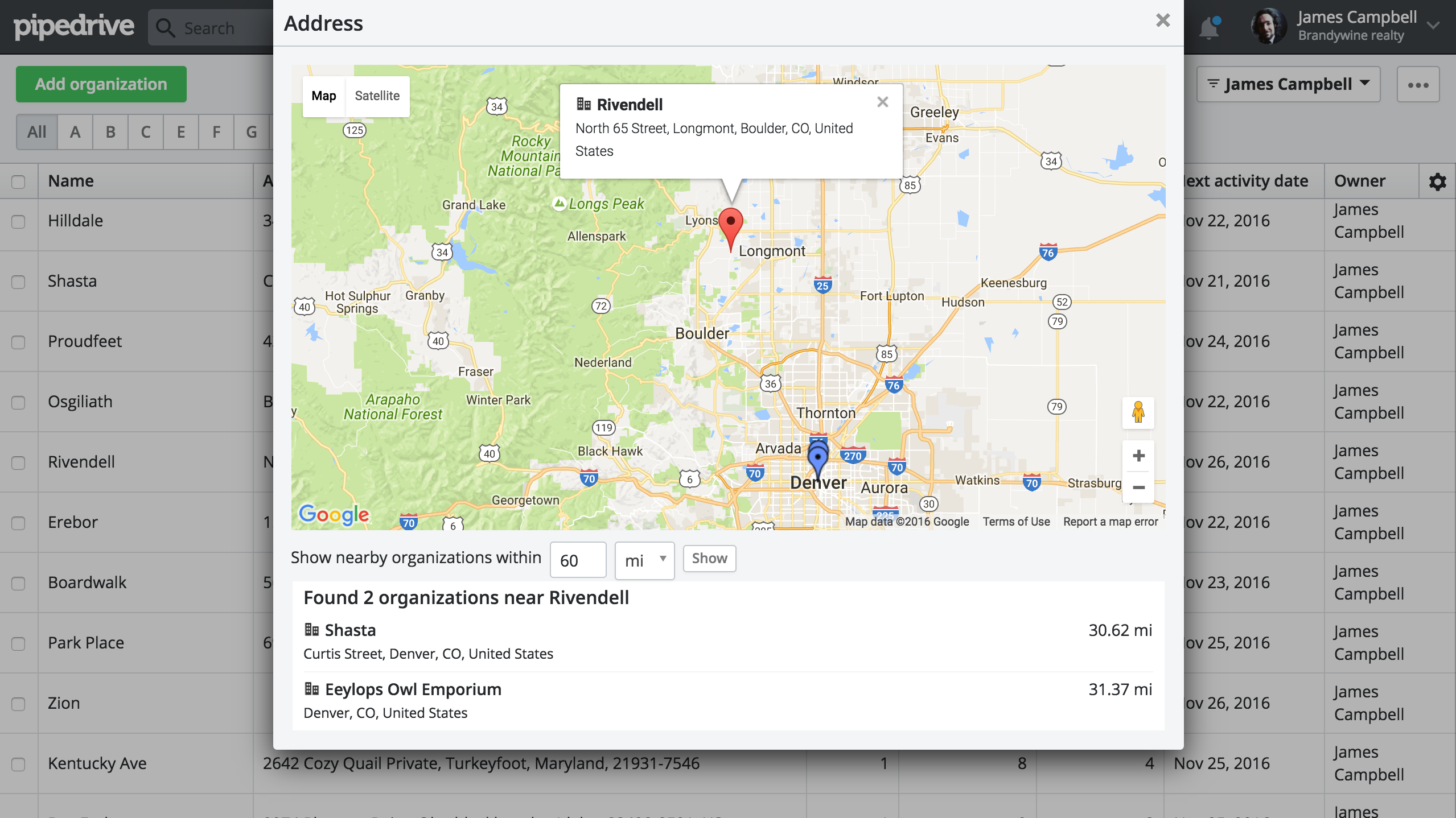 10 Pipedrive Habits Google Maps Integration