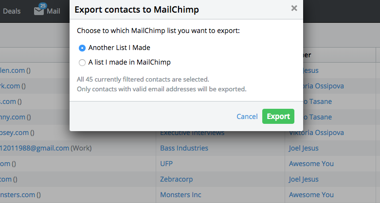 10 Pipedrive Habits Mailchimp Integration