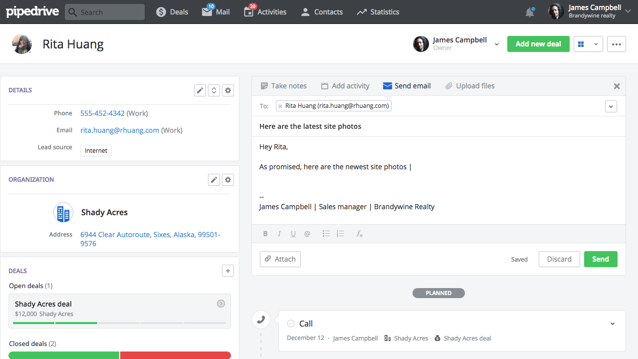 10 Pipedrive Habits instant client replies