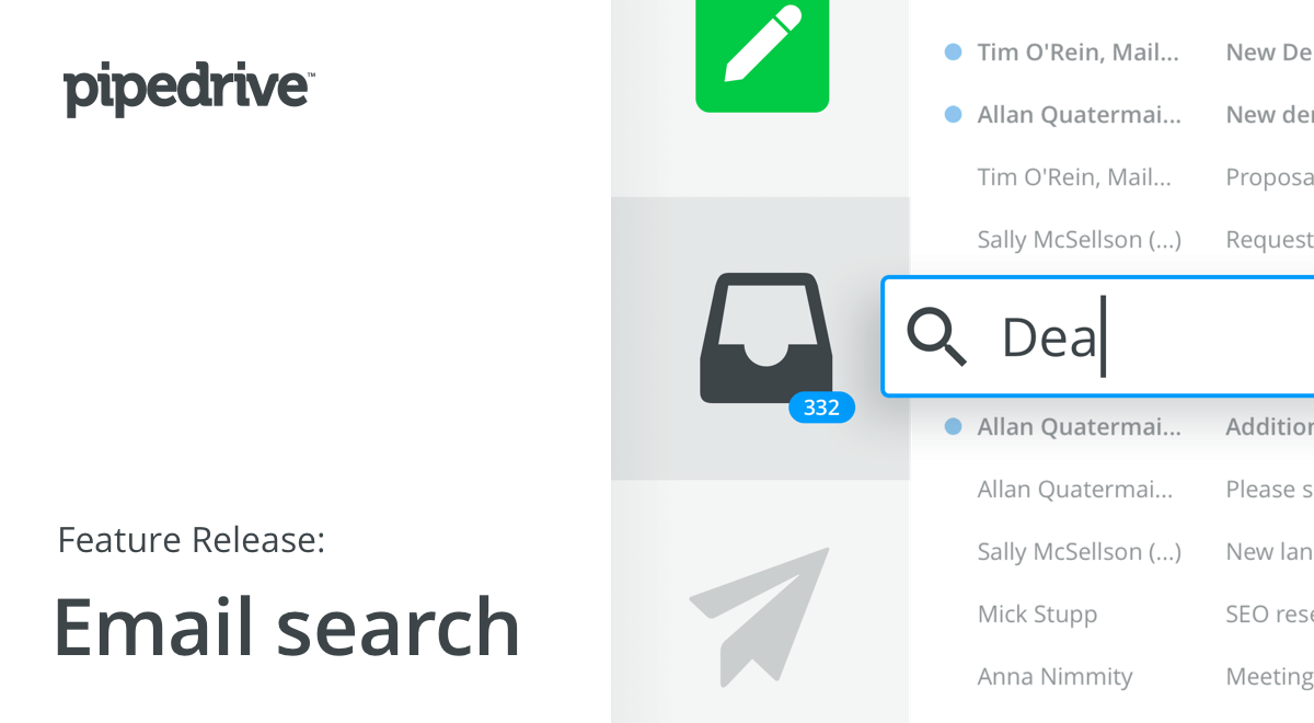 Pipedrive Email Search: Seek and You Shall Find