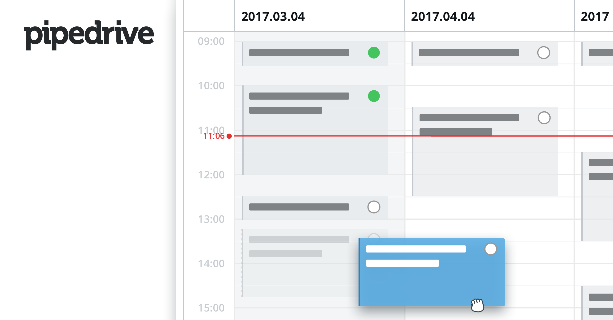 Pipedrive Activity Calendar View