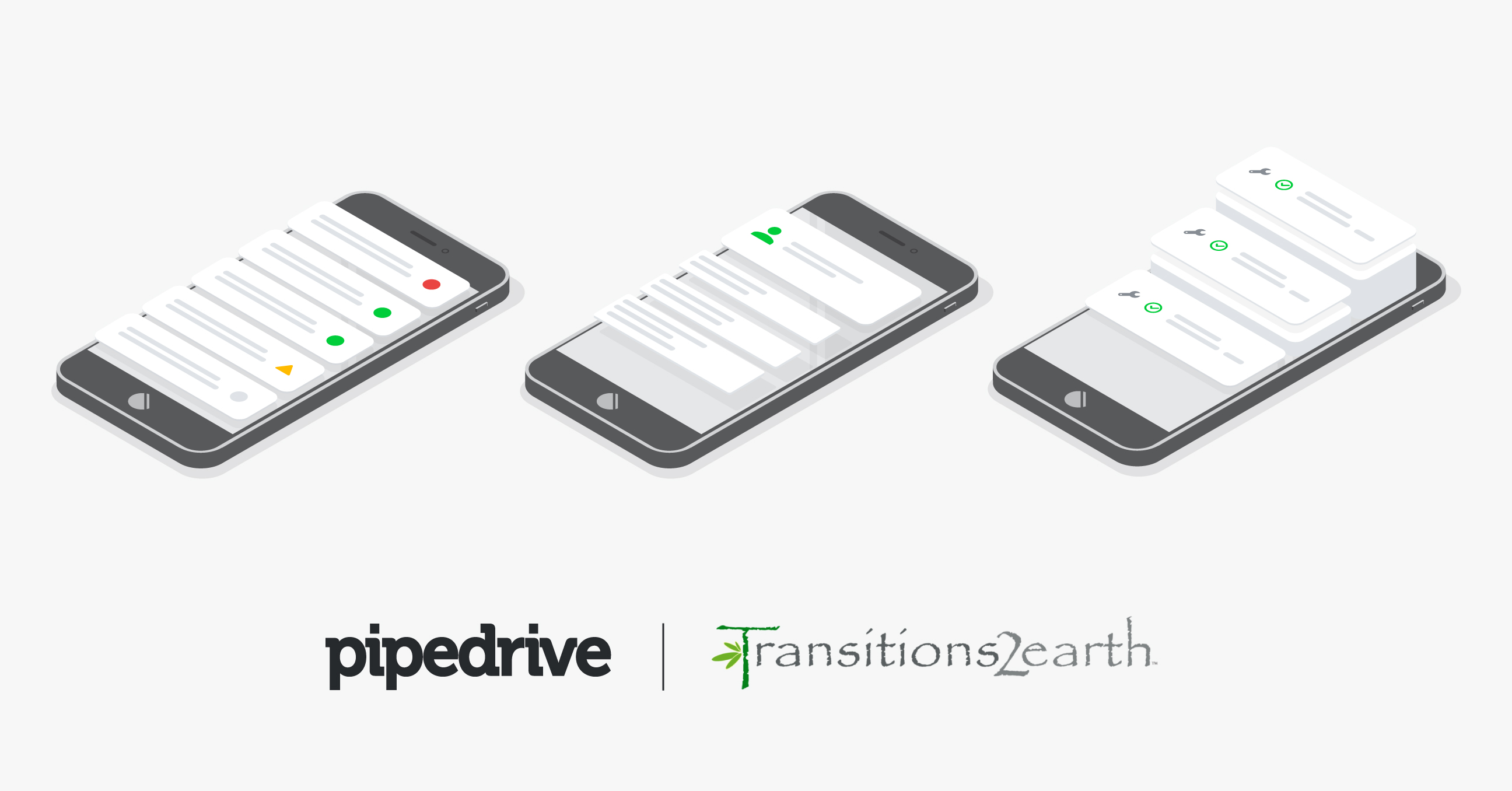Transitions2earth Pipedrive Mobile use case