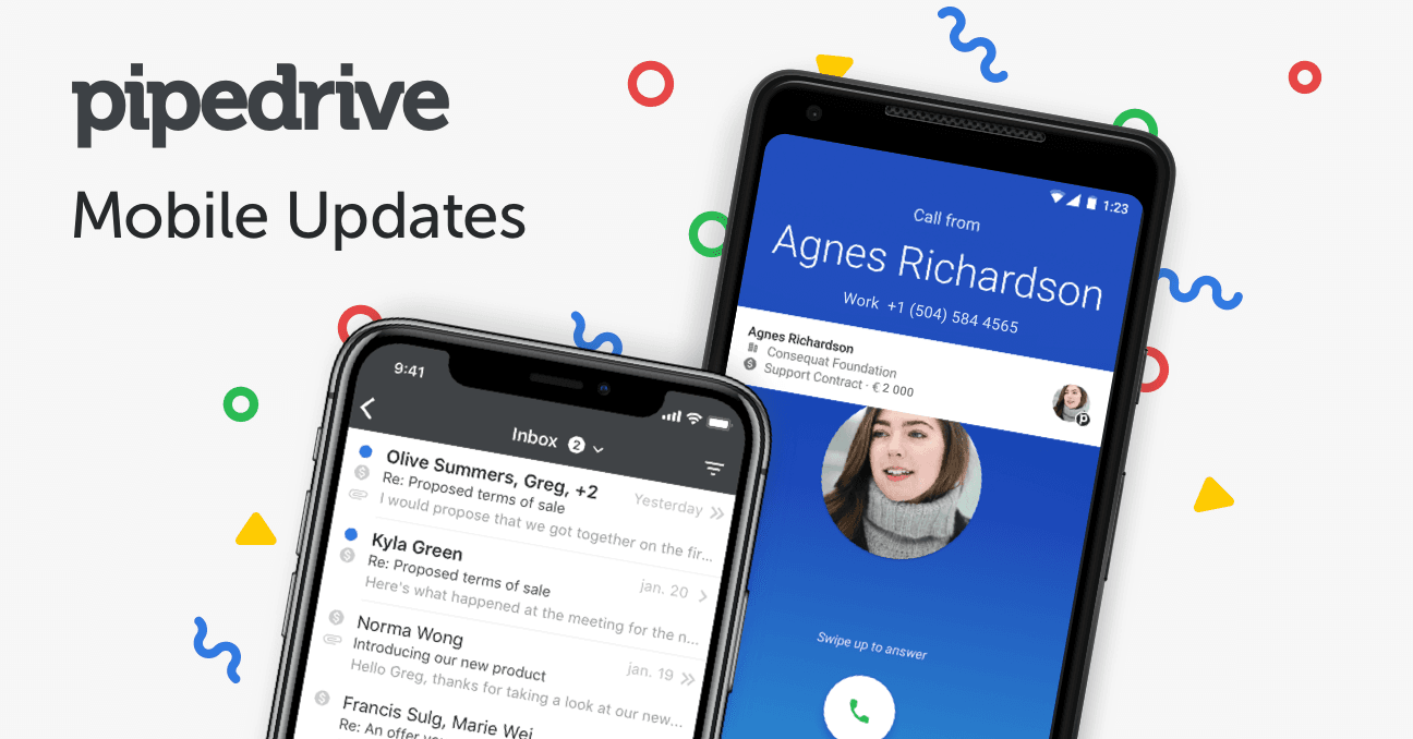 What's New on Pipedrive Mobile